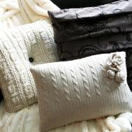Diy Sweater Pillows Repurpose Sweaters Ideas