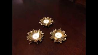Diy Tea Light Candle Holder Polymer Clay