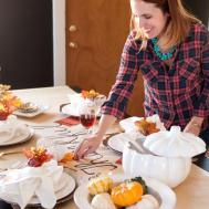 Diy Thanksgiving Table Runner Chic