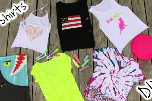 Diy Tshirt Painting Ideas Craft Fun