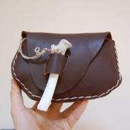 Diy Tutorial Bags Clutch Purse Leather Naruto