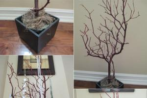 Diy Tutorial Jewelry Holders Make Tree Branch