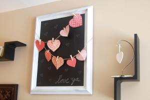 Diy Valentine Chalkboard Decor