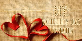 Diy Valentine Day Wreaths Jam Blog