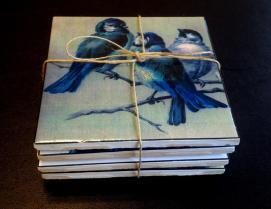 Diy Vintage Bird Coaster Tutorial Sewing Daydreams