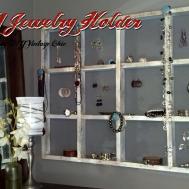 Diy Vintage Chic Jewelry Holder