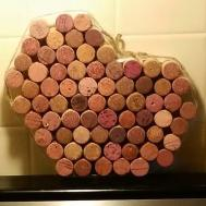 Diy Vintage Chic Valentine Day Wine Cork Hot Plates