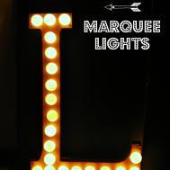 Diy Vintage Copper Marquee Lights