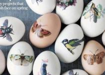 Diy Vintage Easter Egg Decoration Crafts Decor