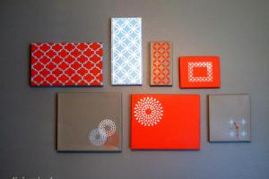Diy Wall Art Wallart Purpo Shoebox Projects