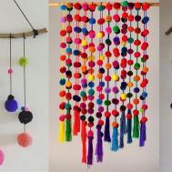 Diy Wall Hanging Crafts Ideas Woolen Pom
