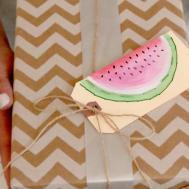Diy Watermelon Gift Kin Community
