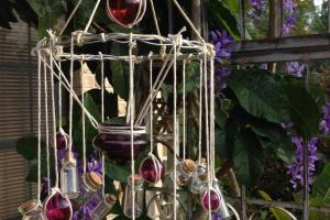Diy Wind Chimes Made Out Old Bottles Room Bath