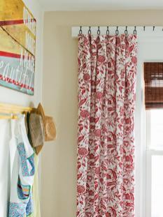 Diy Window Curtains Canvas Dropcloth Network