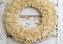 Diy Winter Pom Wreath Wonderful Thought