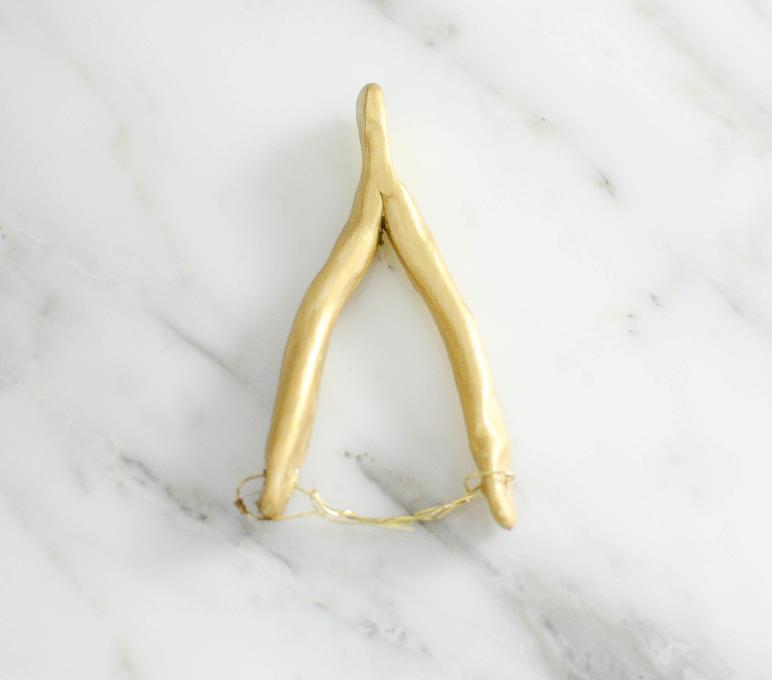 Diy Wishbone Napkin Rings Wills Casawills Casa