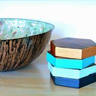 Diy Wood Coasters Two Ways Dans Lakehouse