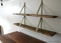 Diy Wood Pallet Shelves Creatively Living Blog