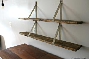 Diy Wood Pallet Shelves Creatively Living Blog