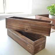 Diy Wooden Wall Planter Little Vintage Nest