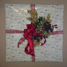 Diy Wrapping Paper Wall Art Cristina Ferrare