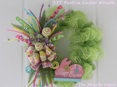 Diy Wreath Ideas Round