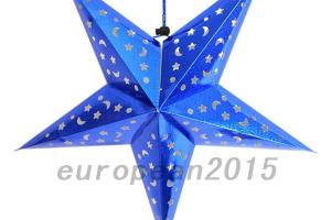 Diy Xmas String Hanging Star Christmas Party Decor