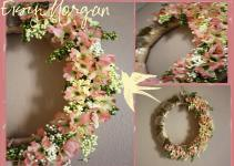 Dollar Store Diy Spring Wreath Ashley Morgan Jackson