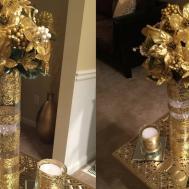 Dollar Tree Diy Beautiful Gold Vase