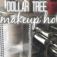 Dollar Tree Diy Spinning Makeup Organizer Home Decor