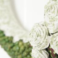Domer Home Diy Acorn Rosette Wreath