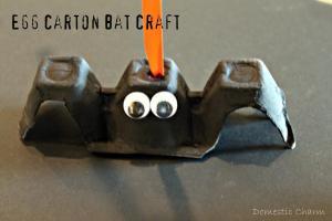 Domestic Charm Halloween Bat Craft