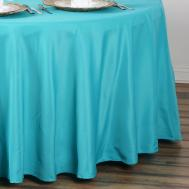 Dozen Lot Round Polyester Tablecloths Wholesale