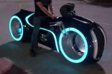 Dream Garage Electric Tron Lightcycle Parker Brothers