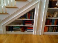 Dream Under Stairs Bookcase Designs Home Living Now