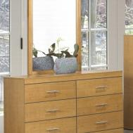 Dresser Furniture Design Ideas Features Brown Plywood