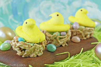 Easter Bird Nests Candy Recipe
