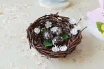 Easter Gifts Bird Nest Decor Egg Fairy Garden Spring