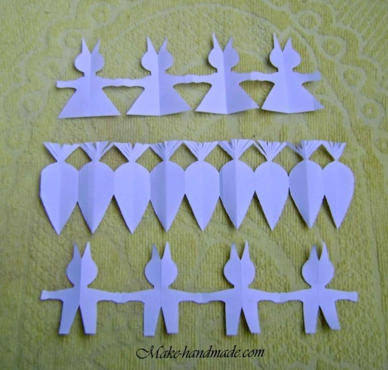 Easter Paper Crafts Kids Bunny Carrot Garlands