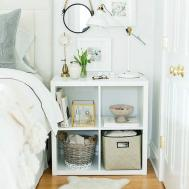 Easy Diy Bedroom Storage Small Space Onechitecture