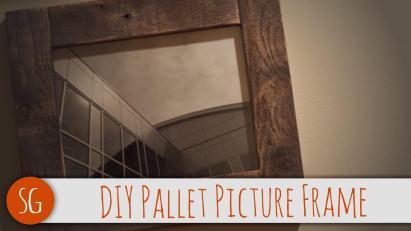 Easy Diy Rustic Wood Frame Can Make