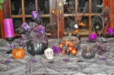 Easy Life Meal Party Planning Halloween Decoration