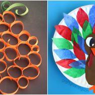 Easy Thanksgiving Crafts Kids Diy