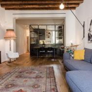 Eclectic Renovation Brings Back Memories Milan Apartment