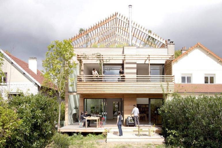Eco Sustainable House Djuric Tardio Architectes Archdaily