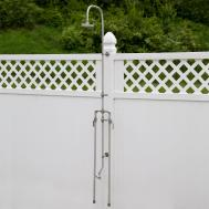 Economy Exposed Outdoor Shower Kit Foot
