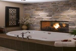 Elegant Bathtubs Bedroom Fireplace Ideas