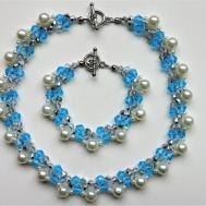 Elegant Handmade Beaded Necklace Bracelet Beginners
