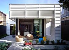 Elegant Suburban Modern Cottage Playful Interior