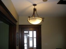 Entryway Lighting Ideas Wood Laminate Stabbedinback